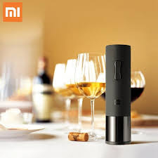 Hot SellingXiaomi <b>HuoHou Wine Electric Bottle</b> Opener Open Bottle ...