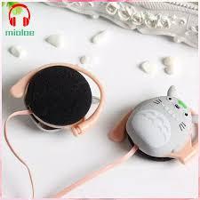 <b>Cartoon</b> Anime Totoro Ear <b>Hook</b> Headphones Earphone Headset for ...