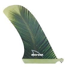 surf longboard fins fiberglass 10 25 length fin green color surfboard