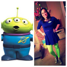 make your own toy story alien costume halloween fun toy story alien costume