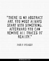 Arts Quotes on Pinterest | Art Quotes, Pablo Picasso and Goethe Quotes via Relatably.com