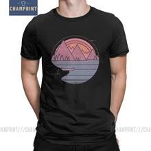 Мужская <b>футболка с круглым</b> вырезом The Mountains Are call ...