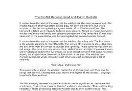macbeth deception essay   our workfollowing  essays support your anti essays short iea insight