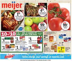 meijer weekly ad nov dec