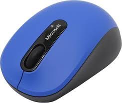 Мышь <b>Microsoft Mobile 3600</b> (<b>черно-синий</b>)