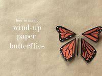 Flying <b>Butterfly</b> Card