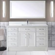 Bathroom White Vanities Single Sink Vanities
