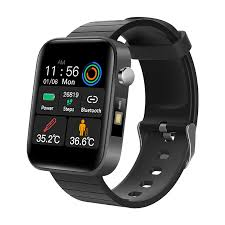 2020 NEW <b>T68 smart watch</b> body temperature detection ECG PPG ...