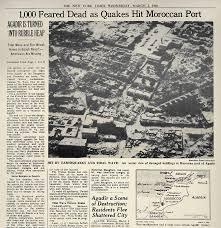 「1960, morroko earthquake」の画像検索結果