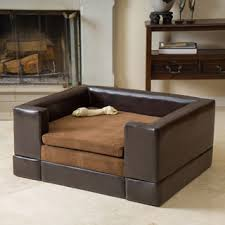doggerville large rectangular cushy dog sofa by christopher knight home big dog furniture