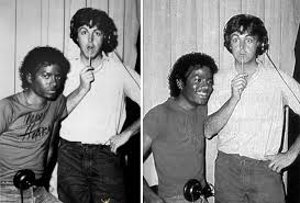 Bildresultat för paul mccartney michael jackson