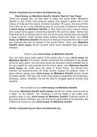 short essay on mahatma gandhi calamatildecopyo short essay on mahatma gandhi helpful tips for your paper