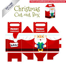 Mega Collection of 38 Cut-Out <b>Christmas</b> Box Templates
