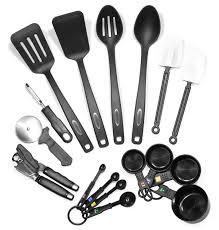 steel kitchen utensil set