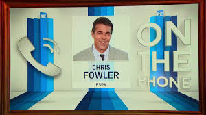 chris fowler of espn college gameday phone call interview  chris fowler of espn college gameday phone call interview 9 30 16