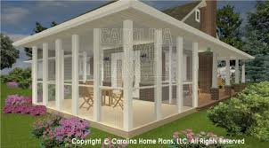 D Images For CHP SG   AA   Small Brick Ranch Style D House    WRAP AROUND PORCH SG  D Screened Porch