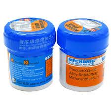 Tools <b>Soldering Paste Flux XG 80</b> XG 50 XG 30 Solder Tin Sn63 ...