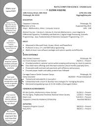 Computer Science Department Resume Template Template net