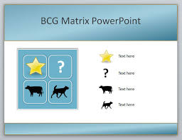 how to create a boston consulting group bcg matrix powerpoint templatecreating the diagram