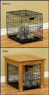 handmade custom wood dog crate cover end tables furniture extra large 73cv2336 big dog furniture