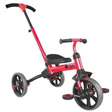 <b>Yvolution</b> Y <b>Velo Flippa</b> 4-in-1 Kids' Trike - Red : Target