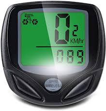 COASTAR Wireless <b>Cycling Computer LCD Backlight</b> Mountain Bike ...
