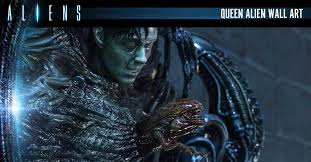 """Alien"" Queen <b>Wall Art</b> Unveiled By Prime 1 Studio Bursts With Detail"
