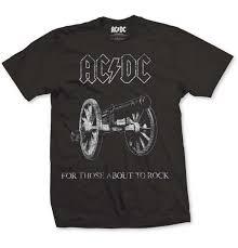 <b>AC</b>/<b>DC, For Those</b> About To Rock, T-shirt - Backstage Rock Shop