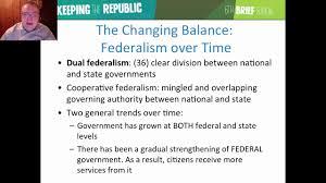 federalism federalism