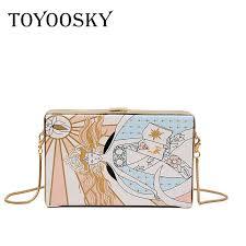 <b>TOYOOSKY</b> 2019 New Abstract Clutch <b>Women</b> Messenger Bag ...