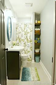 bright basement bathroom love this thrifty decor chick bright basement work space decorating