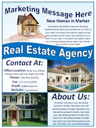 best photos of real estate marketing flyer templates  real estate  real estate flyer templates