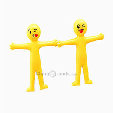 Dropshipping for Creative <b>Soft Glue</b> Small Yellow Person Smiling ...