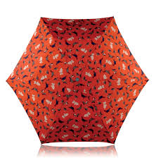 radley little bird print umbrella in orange lyst gallery