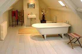 white bathroom floor:  oak engineered white washed oiled mm bathroom