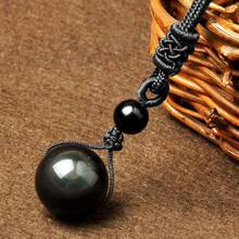 Best value Black <b>Obsidian</b> Natural Stone <b>Pendant Necklaces</b> for ...