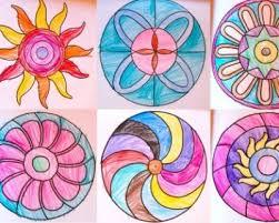 Risultati immagini per mandala quadrati da colorare