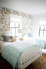 bedroom sparkling captivating girls wallpaper  ideas about modern girls bedrooms on pinterest peacock nursery peacoc
