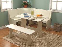 small dining bench: dining room appealing white corner small dining room sets ideas small dining room sets