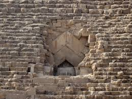 great pyramid of giza history encyclopedia entrance passage great pyramid of giza