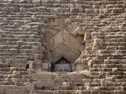 great pyramid of giza ancient history encyclopedia entrance passage great pyramid of giza