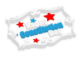 Happy Constitution Day 3d Banner Royalty-Free Stock Image ...