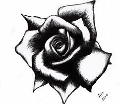 Image result for black rose design