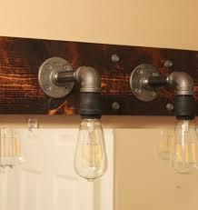 diy industrial bathroom light fixtures bathroom lighting designs