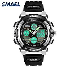 <b>SMAEL</b> 0508 <b>Digital Watches Kids</b> 50M Sport Waterproof <b>Children</b> ...
