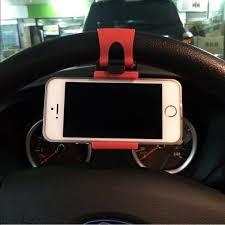 Car Steering Wheel Mount Holder Rubber Holder   <b>Smart car</b> ...