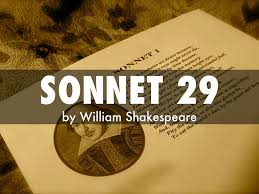 essay on sonnet by william shakespeare  essay on sonnet 29 by william shakespeare