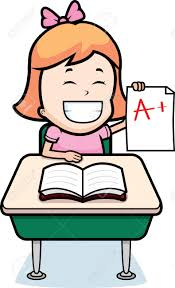a happy cartoon student good grades royalty cliparts a happy cartoon student good grades stock vector 26343852