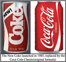 Image result for new coke launch failure