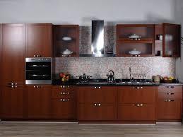 modular kitchen design ideas curved  modular kitchen design ideas with straight kitchen cabinets and brown